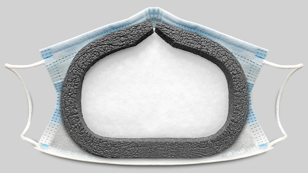 ComfortSeal Filter in Surgical Face Mask