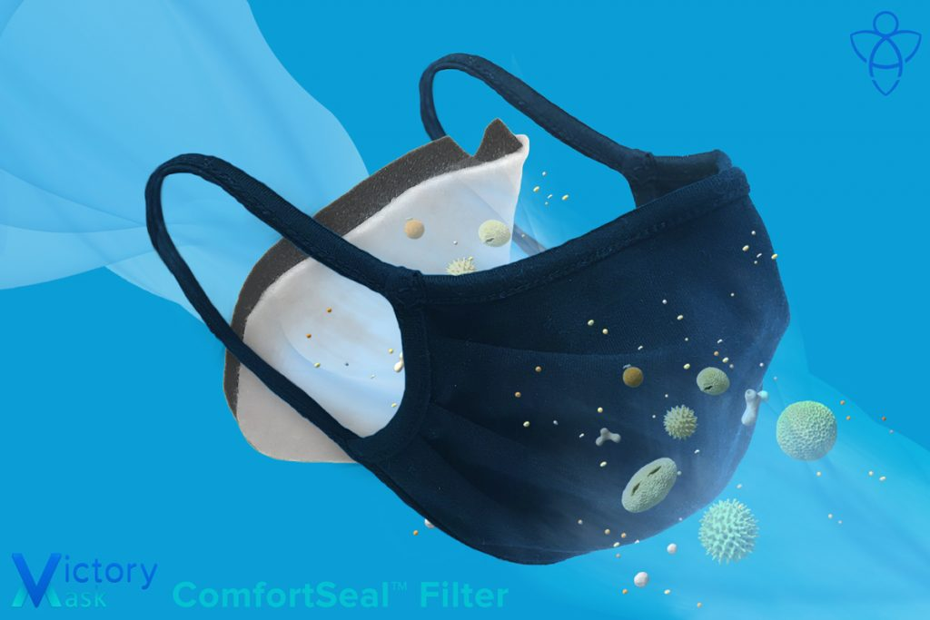 ComfortSeal Filter in Cloth Face Mask